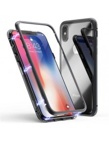 Husa Magnetica 360°, Apple iPhone XR, neagra