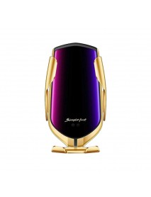 Incarcator wireless Fast Charger si suport auto R1