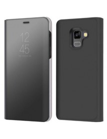 Husa Samsung Galaxy A6+ Plus 2018 Clear View Negru