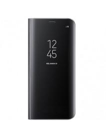 Husa Samsung Galaxy S8 Flip Clear View Neagra
