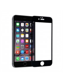 Folie Sticla Securizata 5D Tempered Glass Full Glue Apple iPhone 7 Plus  Nergru-Black