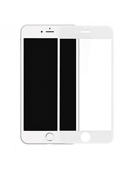 Folie Sticla Securizata 5D Tempered Glass Full Glue Apple iPhone 6s Plus  Alb-White