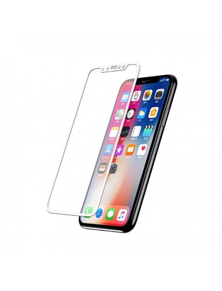 Folie Sticla Securizata 5D Tempered Glass Full Glue Apple iPhone 6s Plus  Alb-White