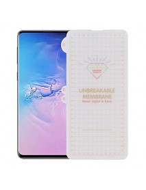 Folie Protectie din Silicon Unbreakable Membrane full screen Samsung Galaxy S10e G970 Transparent-Transparent