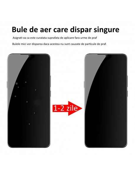 Folie Protectie din Silicon Unbreakable Membrane full screen Samsung Galaxy S10 Lite G970 Transparent-Transparent