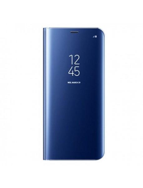 Husa Flip Stand Clear View Oglinda Samsung Galaxy A5 (2017) A520 Albastru-Blue