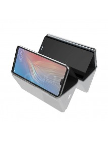 Husa Flip Stand Clear View Oglinda Huawei P20 Pro  Negru-Black