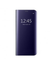 Husa Flip Stand Clear View Oglinda Huawei P Smart Plus (2019)  Mov-Purple