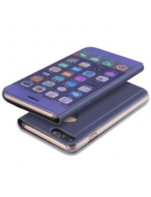 Husa Flip Stand Clear View Oglinda Apple iPhone 6  Mov-Purple