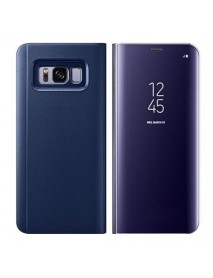 Husa Flip Stand Clear View Oglinda Samsung Galaxy A5 (2018)  Mov-Purple
