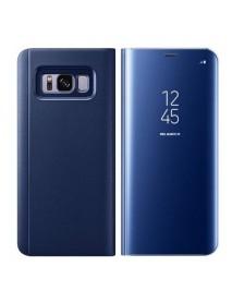 Husa Flip Stand Clear View Oglinda Samsung Galaxy S8 G950 Albastru-Blue