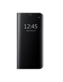 Husa Flip Stand Clear View Oglinda Huawei P20  Negru-Black