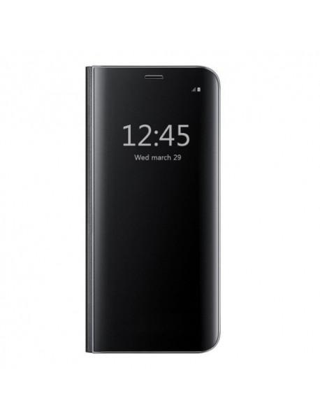 Husa Flip Stand Clear View Oglinda Huawei Mate 10 Lite  Negru-Black