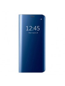 Husa Flip Stand Clear View Oglinda Huawei P20 PRO  Albastru-Blue