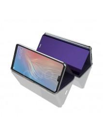 Husa Flip Stand Clear View Oglinda Huawei Mate 10 Lite  Mov-Purple