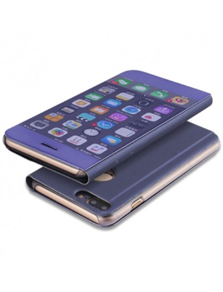 Husa Flip Stand Clear View Oglinda Apple  Iphone 6 Plus Mov-Purple