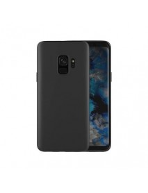 Husa Protectie Silicon Slim Thin Skin Samsung Galaxy A6 Plus A605 Negru-Black