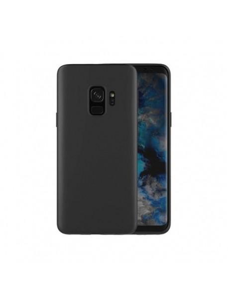 Husa Protectie Silicon Slim Thin Skin Samsung Galaxy A9 (2018) A920 Negru-Black