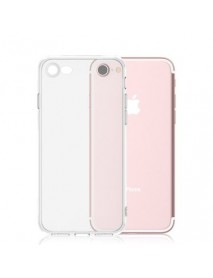 Husa Protectie Silicon Slim Thin Skin Apple iPhone 7 Plus  Transparent-Transparent