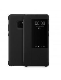 Husa Flip Book Smart View Cover Compatibila Huawei Mate 20 Pro  Negru-Black