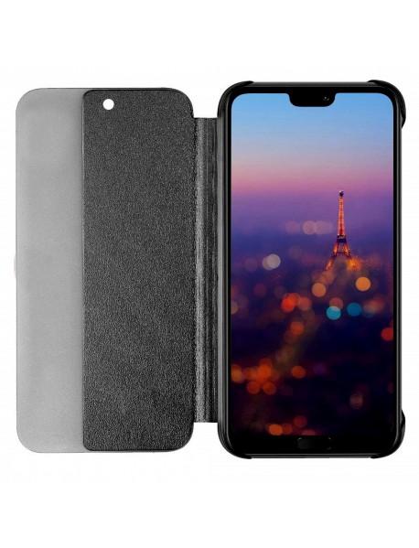 Husa Flip Book Smart View Cover Compatibila Huawei Mate 20 Lite  Negru-Black