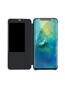 Husa Flip Book Smart View Cover Huawei Mate 20 Pro  Negru-Black