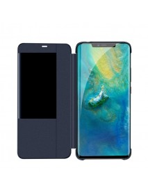 Husa Flip Book Smart View Cover Huawei Mate 20 Pro  Bleumarin-Blue