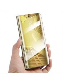 Husa Samsung Galaxy J7 2017 Clear View Auriu